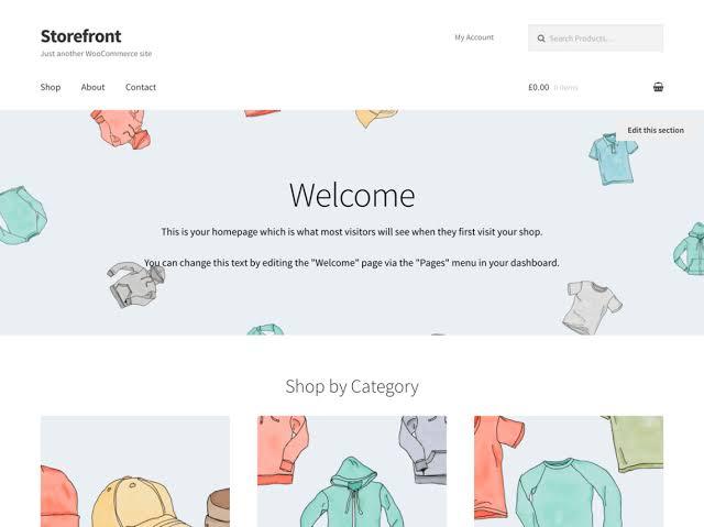 Download WooCommerce Theme Free Terbaik Untuk Online Shop